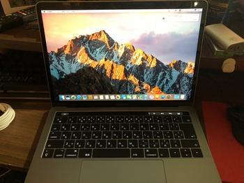 MacBookPro2017スペースグレー4